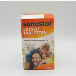 SANOSTOL LUTSCH TABLETTEN